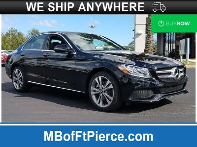 2018 Mercedes-Benz C-Class C 300 SEDAN (Black)