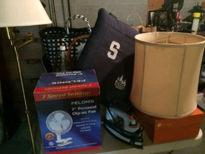 household items, linens and more