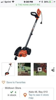 BLACK+DECKER 7.5 in. 12-Amp Corded Electric 2-in-1 Landscape Edger/Trencher