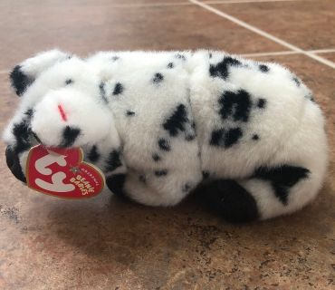Ty Beanie Babies spotted pig NWT