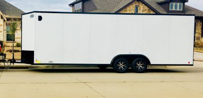 24 Ft Enclosed Trailer