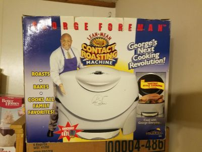 George foreman lean mean contact roasting machine