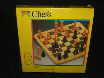 Chess Set Wood NEW