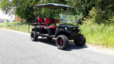 2017 E-Z-Go Personal Express L6 Gas Golf Golf Carts Covington, GA