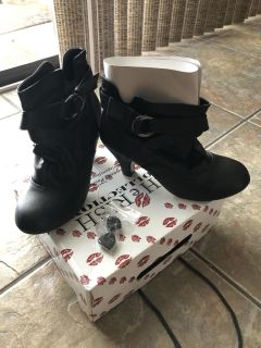 BRAND NEW ankle boots. Even come with extra heel caps. Size 8