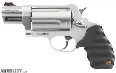 For Sale: Taurus Judge Public Defender Stainless Steel Brand New In Original Packaging + Ammunitiom