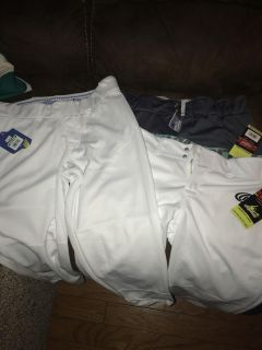 Three pair ball pants New with tags