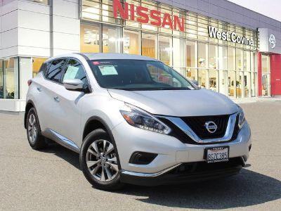 2018 Nissan Murano S (Brilliant Silver Metallic)