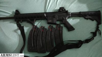 For Sale/Trade: S&W mp15-22