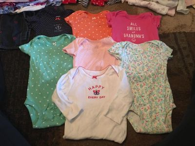 Lot of 7 carters 6m onesies - ppu (near old chemstrand & 29) or PU @ the Marcus Pointe Thrift Store (on W st)