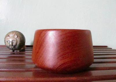 Mid Century Danish Teak Tulip Bowl