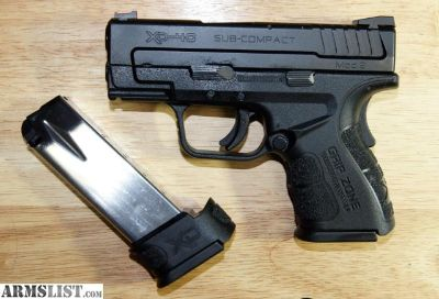 For Sale: SPRINGFIELD XD40 MOD 2 SUBCOMPACT