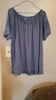 Large maternity top
