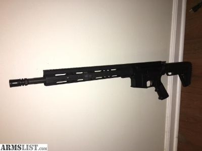 For Sale: AR15. 5.56, AndersonArms w/ Matrix Arms handguard
