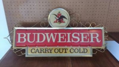 antique/collectible Budweiser Light