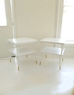 Set of Mid century modern end tables, night stands