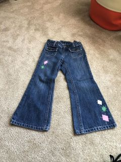 Gymboree jeans for girl size 5