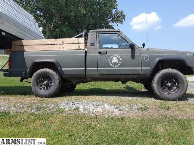 For Sale/Trade: Jeep comanche
