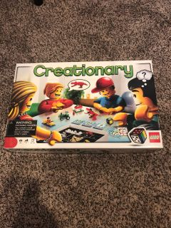 Creationary LEGO game.