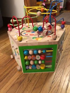 Ever earth wooden activity octagon