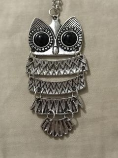 Owl necklace NEW!