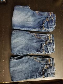 Lot of 3 carters boys size 5 jeans in great condition