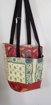 Handmade quilted tote. New. Smoke free