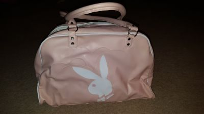 Playgirl bunny Bag /purse/overnite bag/puppy carrying
