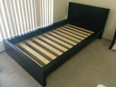 Ikea Malm Twin Bed With Mattress