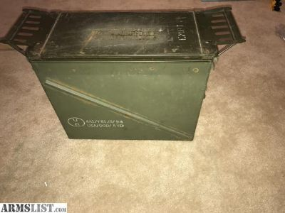 For Sale: 20mm ammo cans