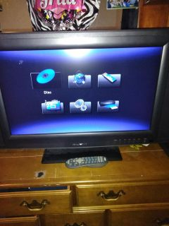29 inch TV barely used with remote