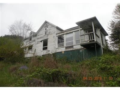 4 Bed 2 Bath Foreclosure Property in Raymond, WA 98577 - Monohon Landing Rd