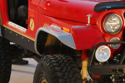 Buy 76-80 Jeep CJ Front, Right Fender Extension Traditional 1 Pc SUV motorcycle in Anaheim, California, US, for US $79.29