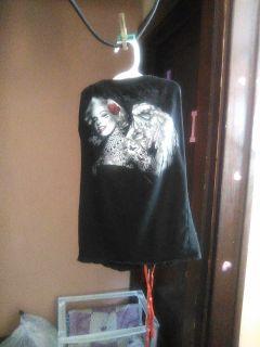 Radio days strapless shirt