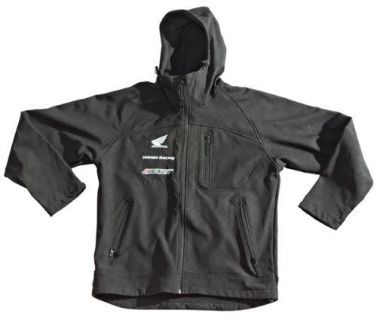 Buy Joe Rocket Honda Hooded Soft Shell Motorcycle Jacket Size Large motorcycle in South Houston, Texas, US, for US $80.99