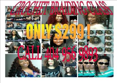 CROCHET BRAID CLASSES !!