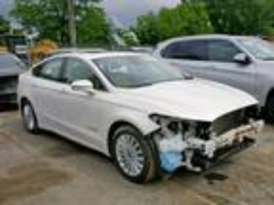 Salvage 2013 FORD FUSION SE for Sale