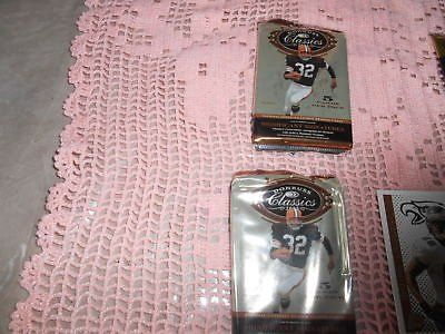 2 Packages of DUNRUSS CLASSICS NFL Football Trading Cards! 5 cards per pkg!