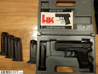 For Sale/Trade: HK USP Compact .40 Package