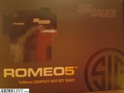 For Sale: Sig Sauer Romeo 5
