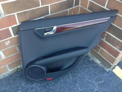 Purchase 08 09 10 11 12 MERCEDES C CLASS C300 C350 REAR RIGHT HAND DOOR TRIM PANEL BLACK motorcycle in Justice, Illinois, US, for US $185.00
