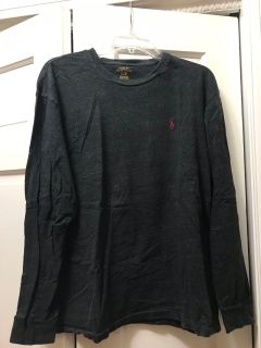 Polo long sleeve shirt Large