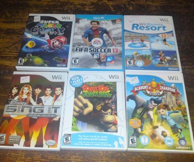 Large group Wii games