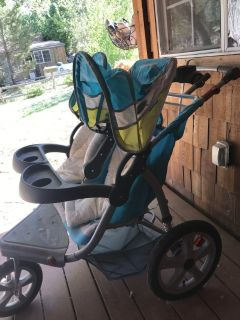 Instep grand safari double jogging stroller for sale