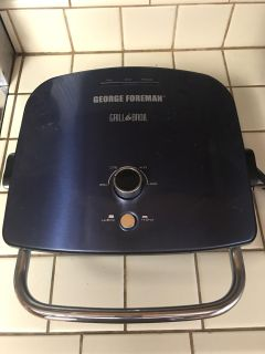 George Foreman - Grill & Broil NEW