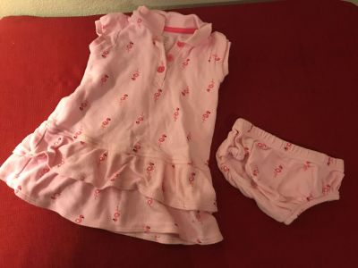 Carter s Just One You . Two Piece Outfit. Size 12 Months. EUC
