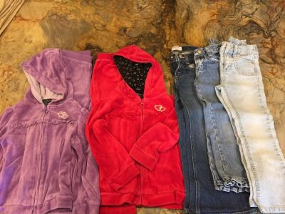 Lot of Girls 4T/4 clothes