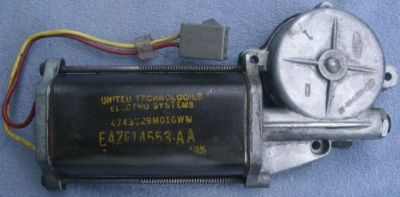 Buy 84-93 FORD MUSTANG MERCURY CAPRI RIGHT HAND WINDOW MOTOR E4ZF-14553-AA motorcycle in Clarklake, Michigan, United States, for US $27.00