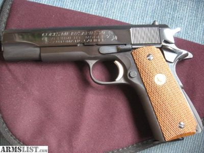 For Sale/Trade: Colt Mark IV Series 70 1911 45 Auto