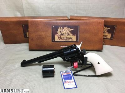 """For Sale: Brand new Heritage Rough Rider .22LR/22mag combo 6.5"""""""